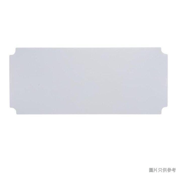 MESH 透明膠片附4勾鐵網 900W x 350D x 0.65Hmm