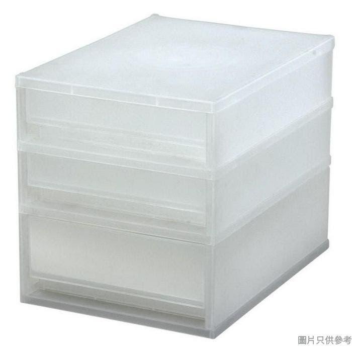 馬來西亞製 MORE A5 SIZE 三層塑膠櫃