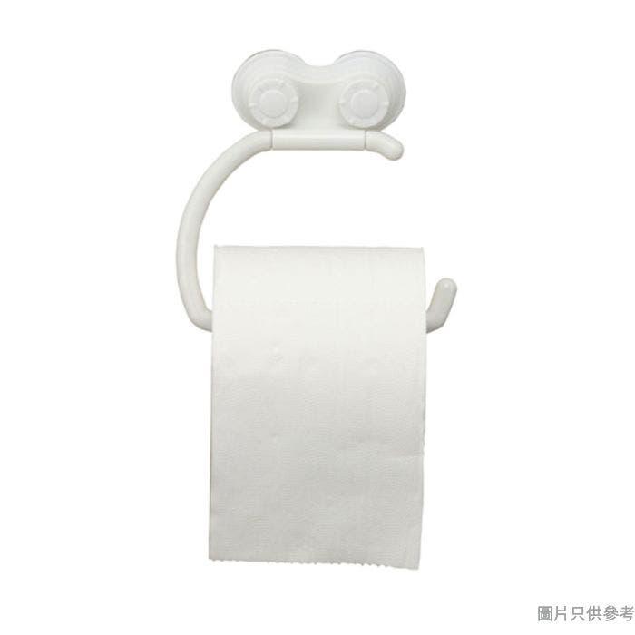 Pricerite實惠塑膠廁紙架附吸盤 15W x 15D x 3.5Hcm (承重2kg)