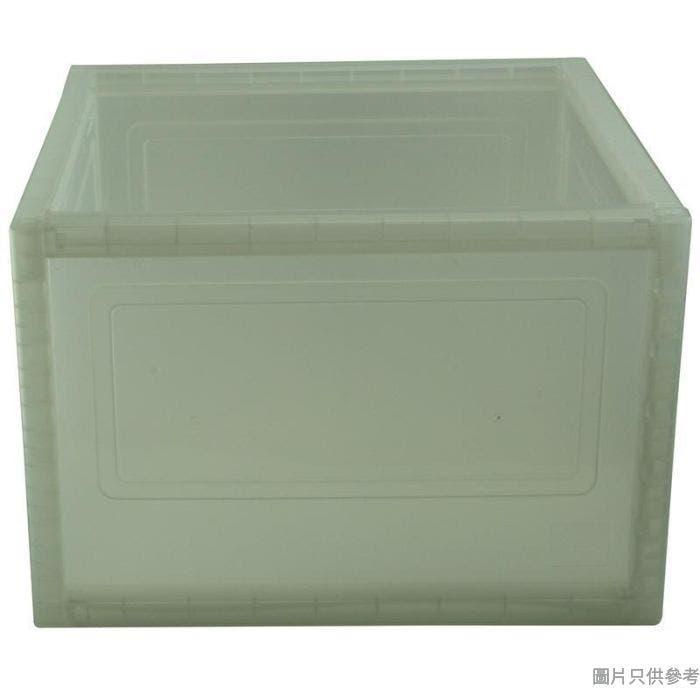 SHUTER台灣製塑膠組合儲物箱378W x 378D x 258Hmm - 透明