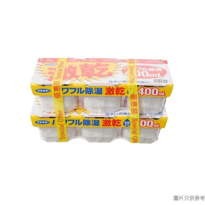 FUMAKILLA象球牌激乾防霉吸濕器400ml (6個裝)