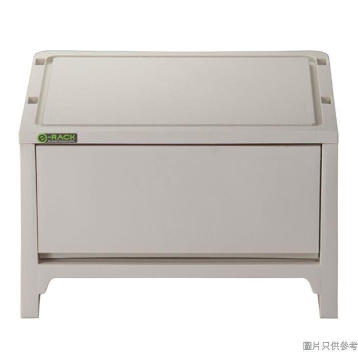 e-RACK日本製塑膠抽屜 363W x 288D x 227Hmm - 米色