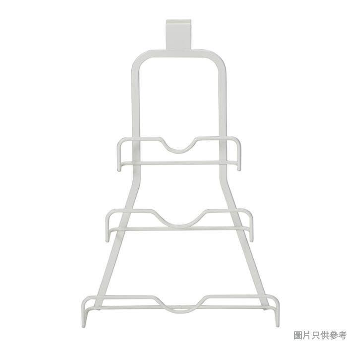 MODUS金屬廚用門掛煲蓋架 243W x 95D x 375Hmm - 白色