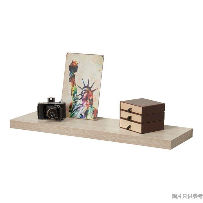 掛牆層板 800W x 235D x 25Hmm - 木紋色