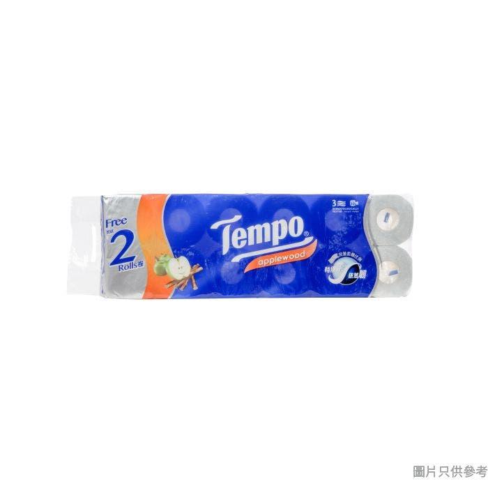 Tempo得寶3層純白衛生紙 (10+2優惠) - 蘋果木香