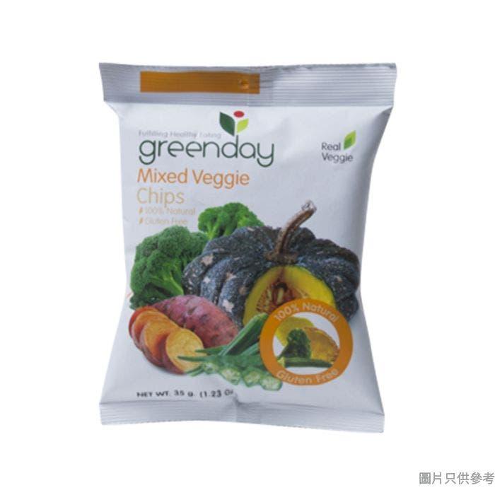 Greenday雜錦蔬菜脆片 35g
