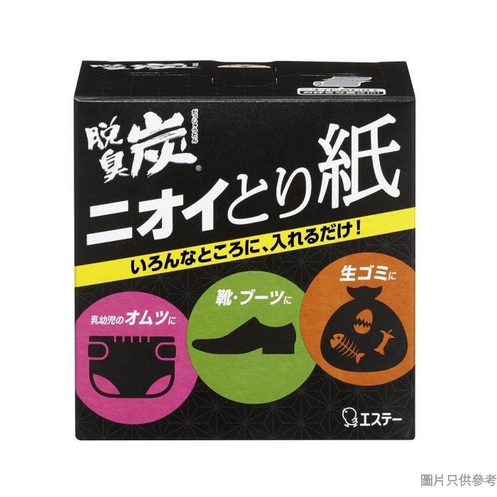 日本製雞仔牌脫臭炭精華吸濕強力消臭紙#434