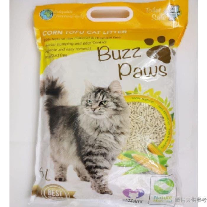 Buzz Paws豆腐砂6L - 粟米味