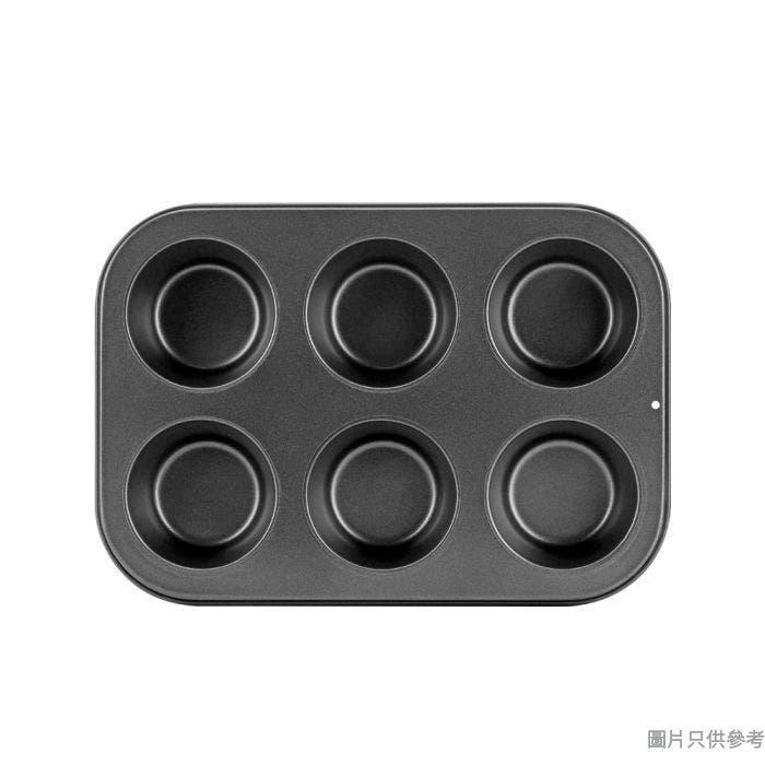 Truefun煮角蛋糕模KW-031-06 (6孔) - 圓形