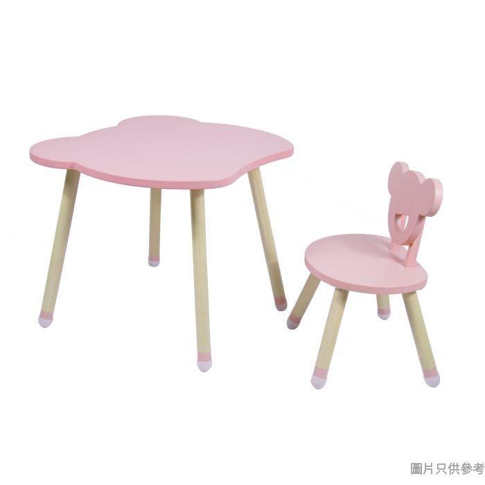 小熊兒童實木桌椅套裝 565W x 600D x 500Hmm