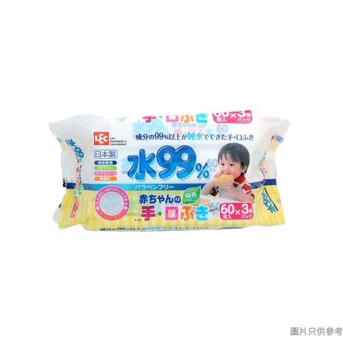LEC日本製99%純水手口專用濕紙巾 SS-267 (3包裝)