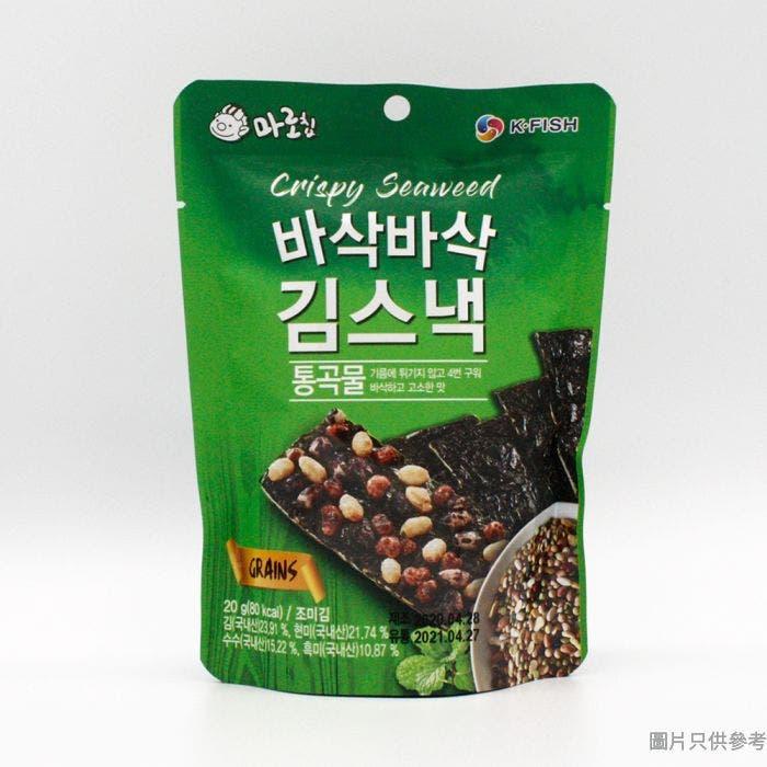 瑪珞夾心海苔脆片 20g - 穀物味