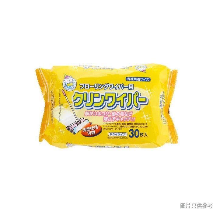 EASY CLEAN日本製地板潔淨除塵布OL-HF-82102(30片裝)