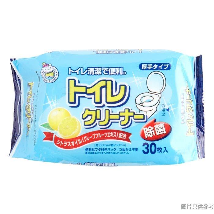 EASY CLEAN日本製座廁消毒清潔濕巾OL-HT-33729(30片裝)