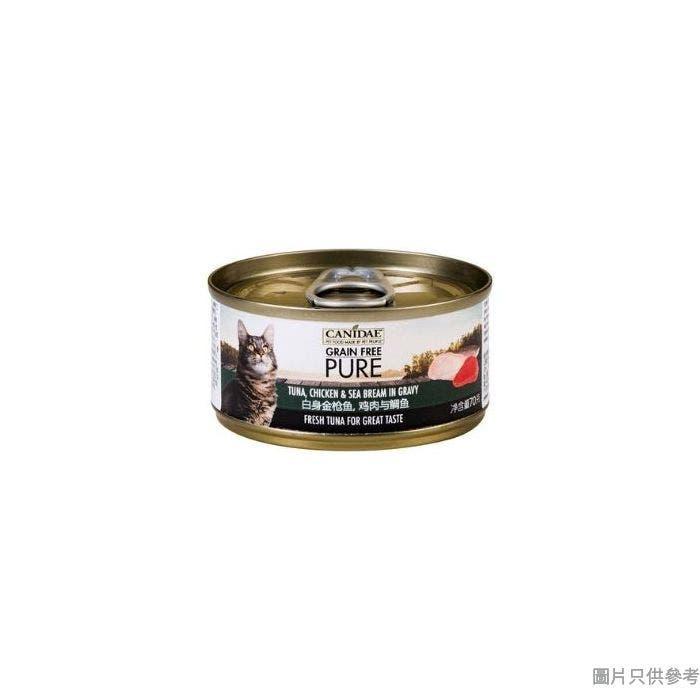 Canidae咖比美國製魚貓罐頭70g - 吞拿魚雞肉鯛魚