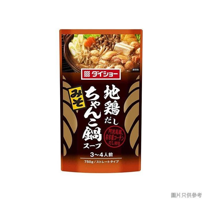 Daisho走地雞味噌相撲手火鍋湯底 750g