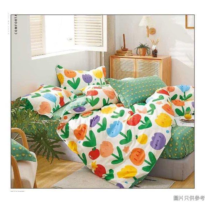 Isabella床品套裝雙人(床笠+枕袋)ML1582 - 翩翩起舞