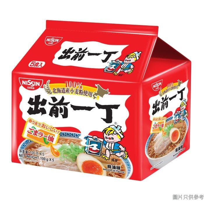 日清出前一丁北海道小麥粉即食麵100g (5包裝) - 麻油味