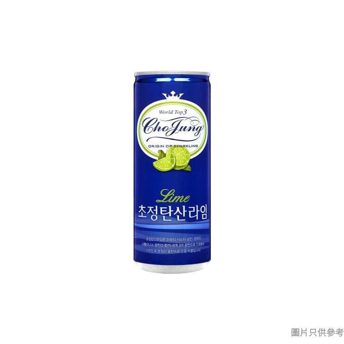 Cho Jung 有氣水 250ml - 青檸味