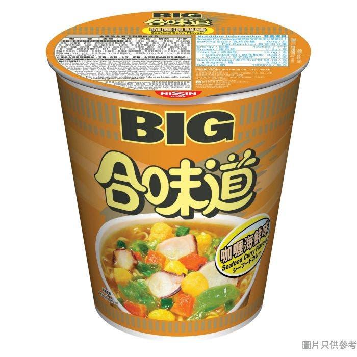 日清合味道大杯麵 101g - 咖喱海鮮味