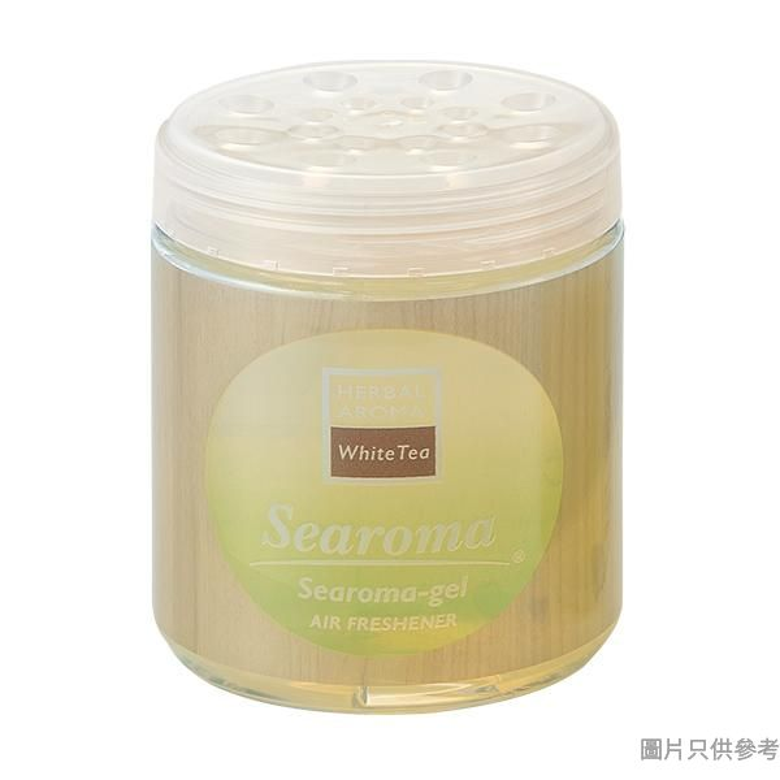Searoma 日本製抗菌除臭香薰凝膠 185g SGAF185-WT - 白茶香味