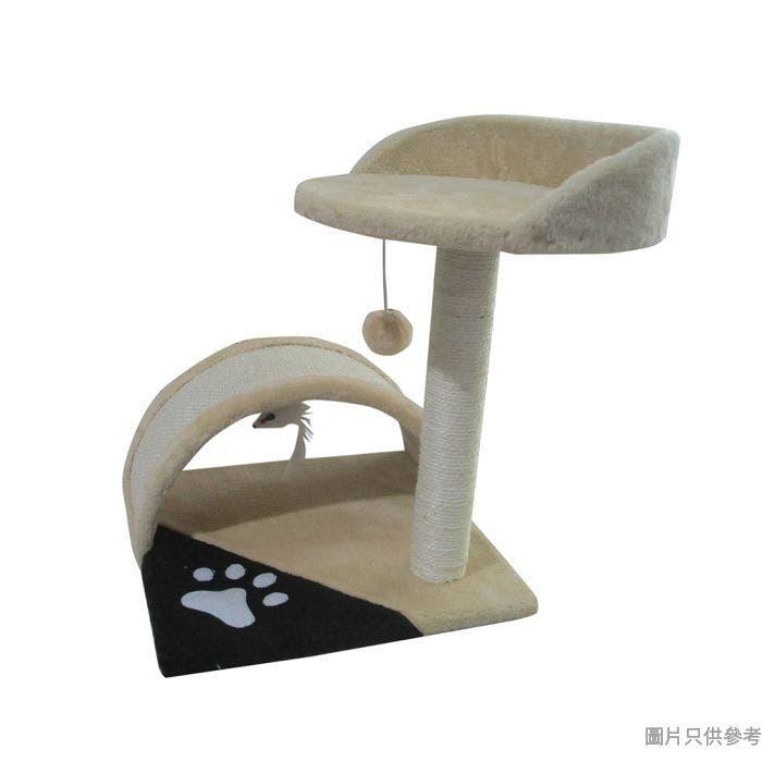 Meow Me 2層貓樹 360W x 360D x 440Hmm MM80324H-7 - 米色