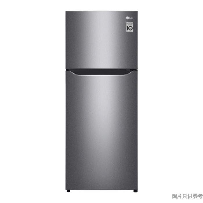 LG 樂金 184L上置式冷凍型智能變頻雙門雪櫃 GN-B202SQBB