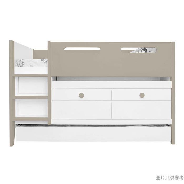 CTD-TB02(L) 多功能組合床(書檯, 子床及六櫃桶)(面向計左樓梯)