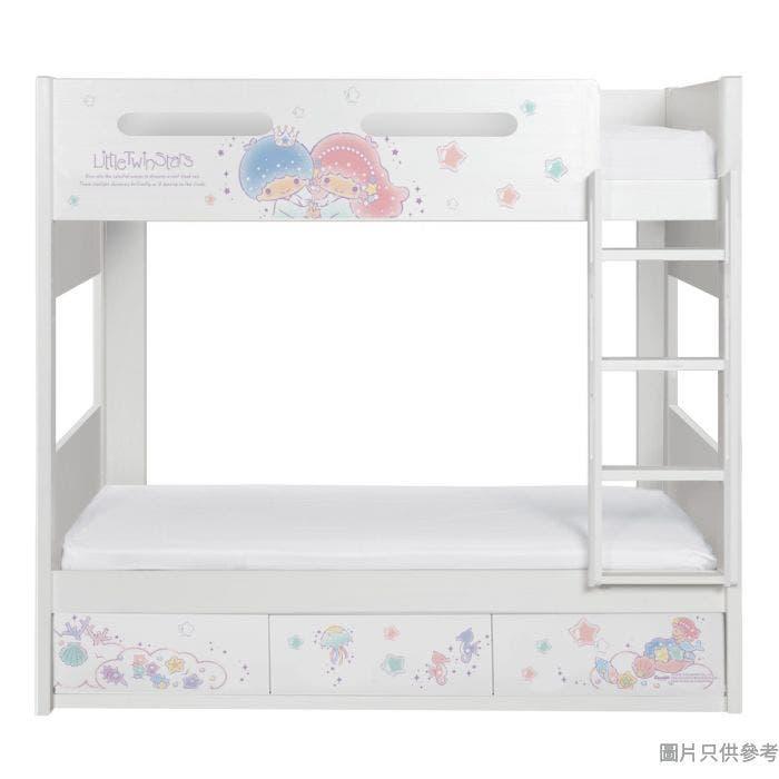 Sanrio CTD-BB03 雙層床配三櫃桶 - Little Twin Stars-A (面向計右樓梯)