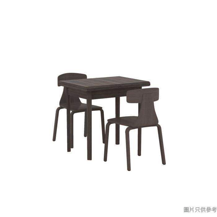 TESS TE-T-60120 + TE-C-18 開合餐檯連兩椅1200W x 795D x 750Hmm