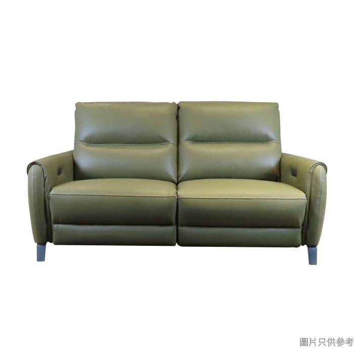 CHEERS芝華仕MASON F-S10269M三座位電動雙彈鉸布藝梳化1841W x 851D x 991Hmm - 橄欖綠色