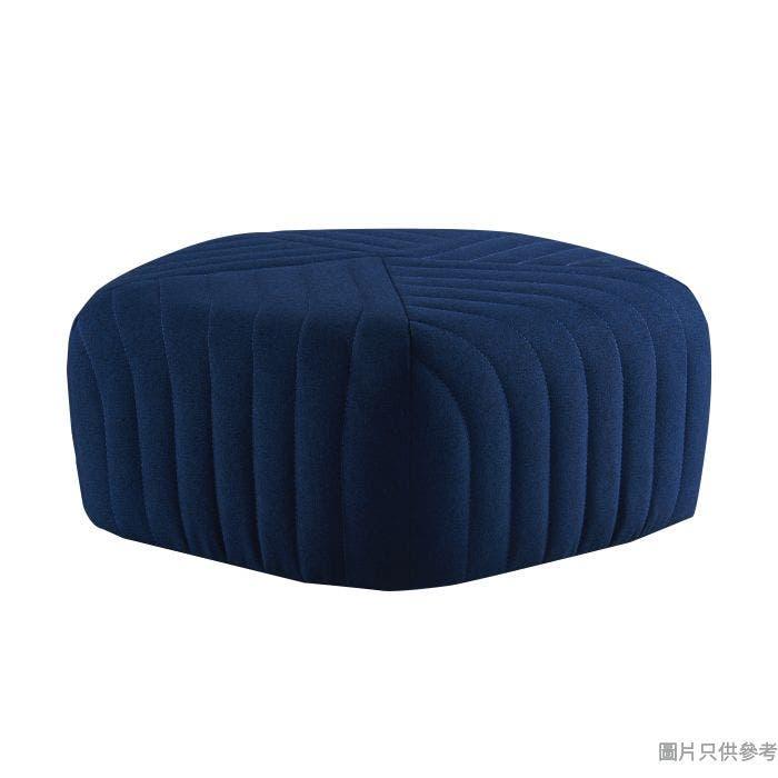 YK-3002B 五角形布藝腳踏 - 藍色(1005)(E)460W x 460D x 260Hmm - 藍色