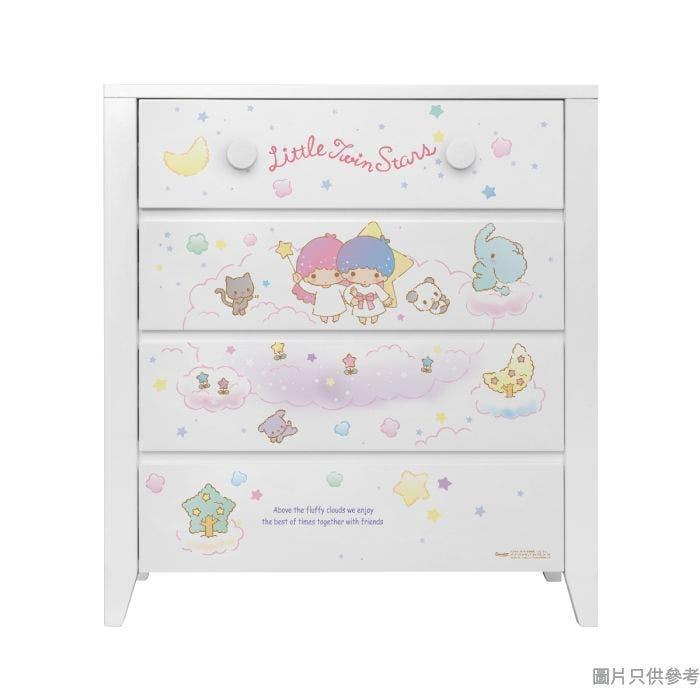 Sanrio CTD-CH01 四桶儲物櫃 Little Twin Stars-B