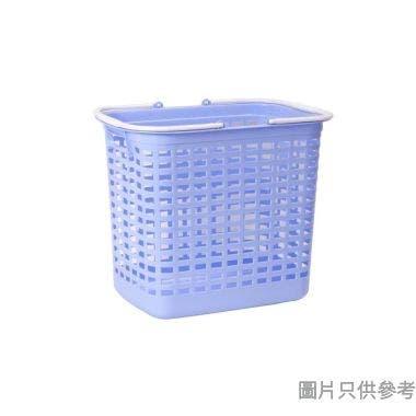 長方形塑膠污衣籃450W x 320D x 400Hmm - 藍色