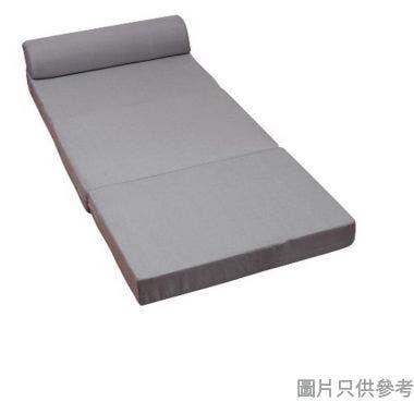 SOHO 3摺梳化床910W x 600H-1800D x 560Hmm - 灰色
