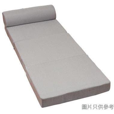 SOHO 3摺梳化床760W x 600H-1820D x 570Hmm - 灰色