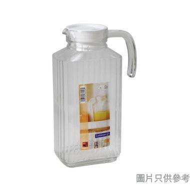 Luminarc樂美雅四方條子玻璃水勺 1.7L
