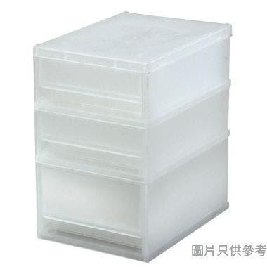 馬來西亞製MORE三層塑膠櫃,A6 SIZE,#W-NA612