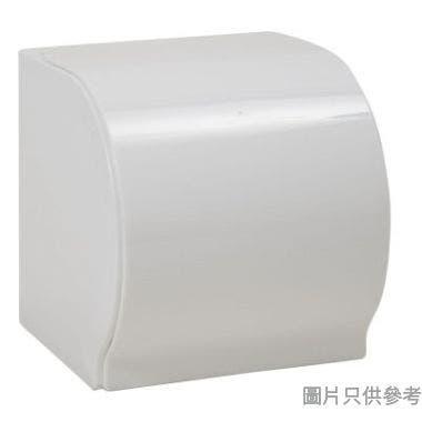 Pricerite實惠塑膠防水卷紙架附吸盤 12.4W x 14.2D x 13.4Hcm