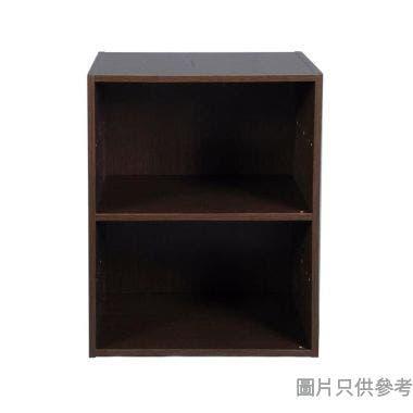 2層儲物櫃 400W x 290D x 522Hmm - 胡桃木色