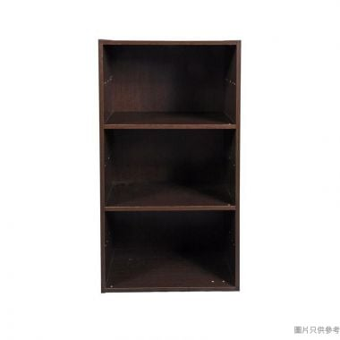 3層儲物櫃 400W x 290D x 776Hmm - 胡桃木色
