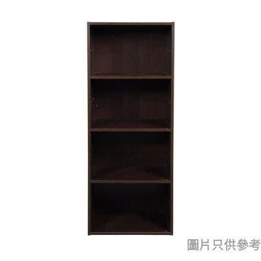 4層儲物櫃 400W x 290D x 1030Hmm - 胡桃木色