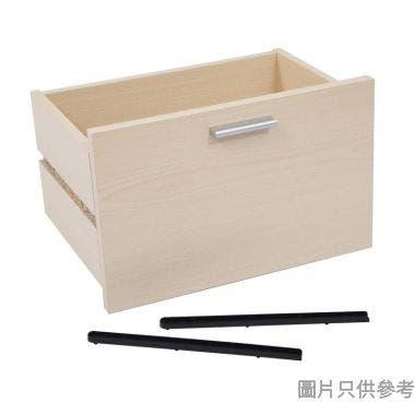 櫃桶附膠趟路 372W x 268D x 236Hmm - 楓木色