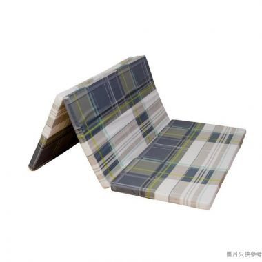 SOHO NOVO 3摺輕膠仿棉印花床褥1.4kg 72''W x 36''D
