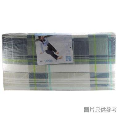 "#SOHO NOVO 48"" X 72"" 三摺輕膠仿棉印花床褥"