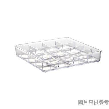 韓國製水晶膠方格雜物盒 168W x 168D x 30Hmm
