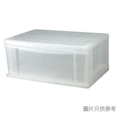 SOHO NOVO新加坡製塑膠單層抽屜 600W x 420D x 260Hmm  - 透明色
