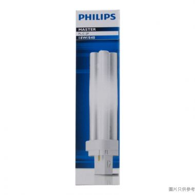 PHILIPS飛利浦 13W 827 2針4頭 PL-C慳電管-暖黃光