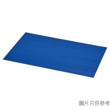 3M 45 x 75cm 安全防滑浴室地墊 - 藍色