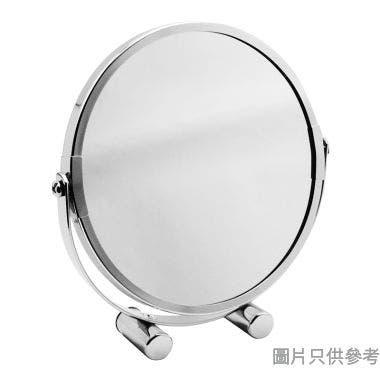 電鍍圓形雙面座檯鏡 180W x 40D x 185Hmm